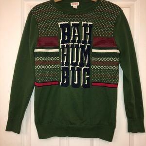 Cat & Jack Shirts & Tops - Cat & Jack Christmas BAH HUM BUG XL 16